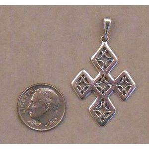 sterling silver CROSS pendant SJ934-07